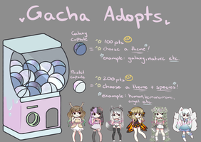 Cheap Gacha Adoptables (CLOSED FOR NOW) by MikuniShinaru
