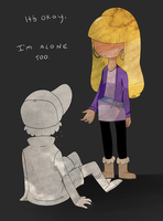 Alone by cynderfunk