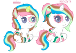 Triple Delight Foals by theliondemon-kaimra
