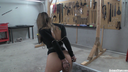 Asiana In Control - Our First Self Bondage Show Pa by AsianaStarr