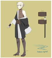 [REFERENCE] 2nd Naruto Main Oc: Mao Furukawa by hyacinthoignis