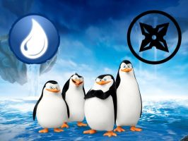 Penguins of Madagascar Water Sensei/Ninja Class by magmon47