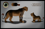 Adara Reference by MerlynsMidnight