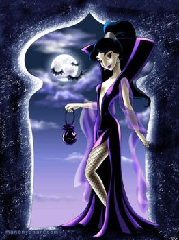 Jasmine as a Vampiress by manony