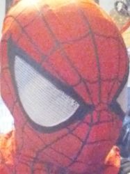 New Spidey mask by spidergirl1997
