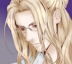 Byung-chul (lineart coloring) by MadameFluttershy