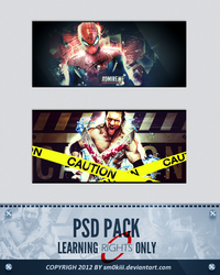 Signature pack PSD by sm0kiii