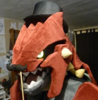 Groudon Costume -Sneak Peek