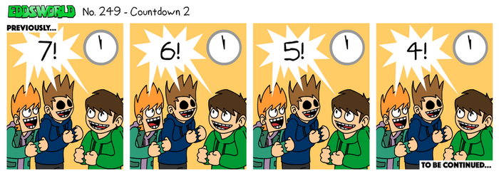 EWCOMIC No. 249 - Countdown 2 by eddsworld