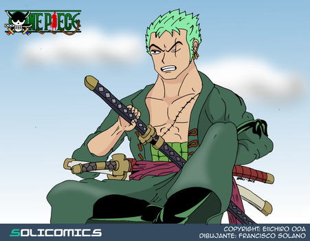Zoro by Solicomics