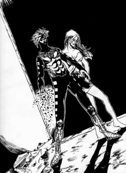 Gambit revisited inked by lordkai