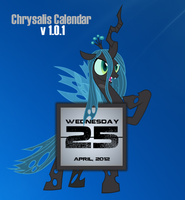 Queen Chrysalis Calendar V1.0.1 by SNX11