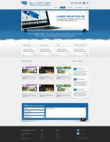 Web Design: BlueCube by VictoryDesign