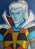 Lord Oberon ACEO card by LadyNin-Chan