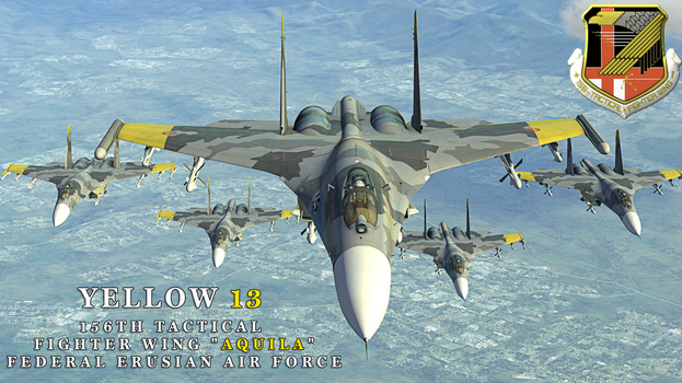 Ace Combat 4 Shattered Skies - Yellow Squadron by BillyM12345
