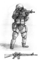 NWI Soldier and KCA M5 by Pyrosity