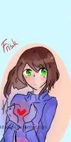 (redraw) Frisk Bookmark by Kitagami