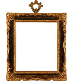 1055 Golden Frame 01 by Tigers-stock
