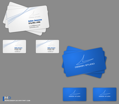 Business Card by MeReZ2oo9