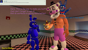 Ask and Dare Funtime Freddy #1 by DoctorMelon