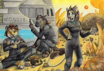 Tribble Trouble by Schiraki by FuranIrcas