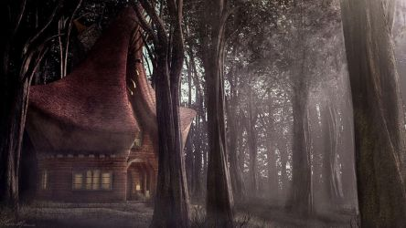 Cabin in the Woods by Alanise