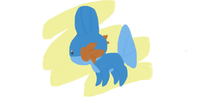 Mudkip! by MidnightRarity
