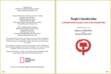 People's Socialist Atlas - Pages 2 and 3 by Upvoteanthology