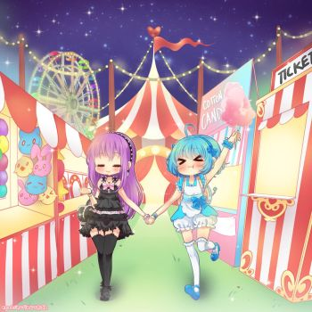 Kimagure Carnival by neutrinoflavor