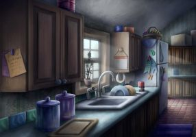 Kitchen by Benjamin-the-Fox