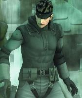 Solid Snake by MagnaMan001