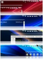 Crystal Clear Menubar Revisite by marsmuse