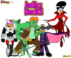 Justice Ducks by RoseMary1315