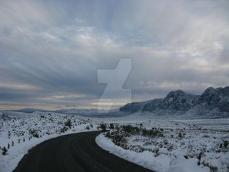 Red Rock White Out II by southwesternscenery