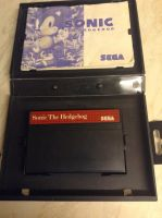 Sonic The Hedgehog - Master System by DazzyADeviant
