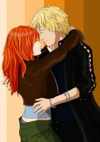 Clary and Jace 2 by Rikakio