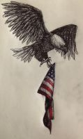 Bird of the Flag by swiftcross