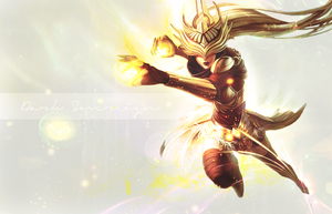 Syndra Wallpaper by Freyfie