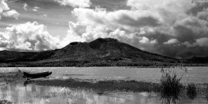 Mighty Mt. Batur by the-arkz