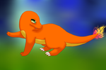 Jaka the Charmander Requested by GlaDOSStar