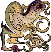 DS: Octoprey by Hisscale
