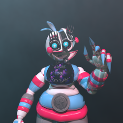 HG Funtime Chica (4K) (Happy New Year!) by HyperRui37