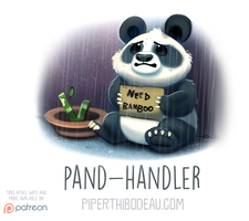 Daily Paint 1553. Pand-Handler by Cryptid-Creations