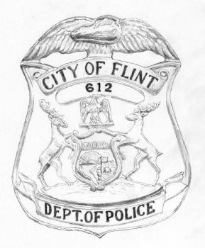 Flint Police Department Badge by Joilieder