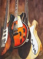 Legendary guitars by rougealizarine