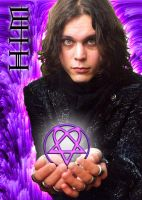 Ville Valo - HIM 'poster' by KriticKilled