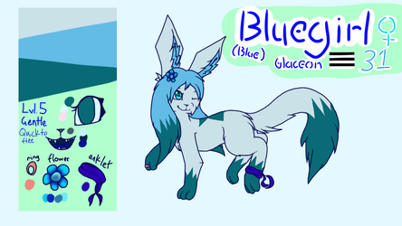 Bluegirl Reference Sheet 2018 by Shadow--Flareon