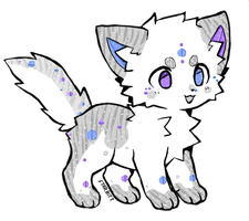 Crystal Cat Auction (ENDED) by MausyAdopts