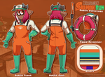 Salmon Run- Outfit Reference by RancidWorld