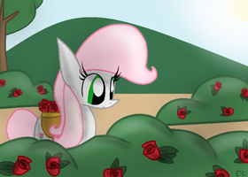 In the garden by LittleCloudie